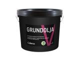 Grundolja(Прозрачное  масло для пропитывания наружных деревянных поверхностей, перед нанесением финишного покрытия.Жирный алкид/льняное масло/тунговое масло)