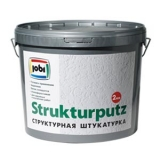 JOBI STRUKTURPUTZ декоративная штукатурка - эффект короеда (СтруктурПутц)