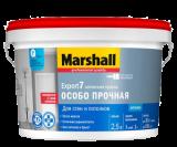 MARSHALL EXPORT 7 матовая краска для внутренних работ, моющаяся База BW