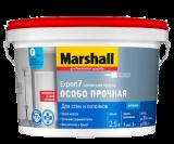 MARSHALL EXPORT 7 матовая краска для внутренних работ, моющаяся База BC
