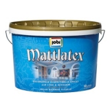 JOBI MATTLATEX (Джоби Матт Латекс) влагостойкая краска для стен и потолков.